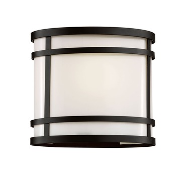 Cityscape Oval 8 Patio Light by Trans Globe | 40201 BK