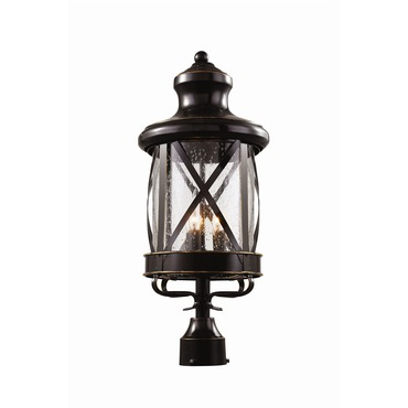 New England Coastal Medium Post Lantern by Trans Globe | 5123 ROB