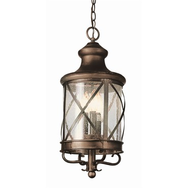 New England Coastal Hanging Coach Lantern by Trans Globe | 5124 AC