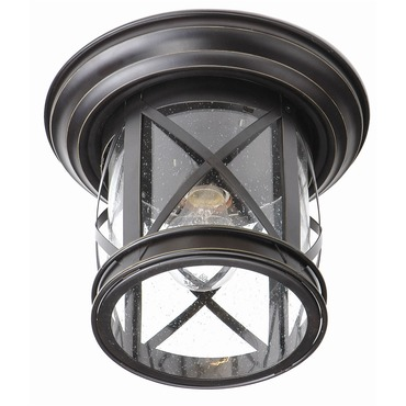 New England Coastal Outdoor Flush Mount by Trans Globe | 5128 ROB