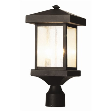 Traditional Seeded Post Lantern by Trans Globe | 45644 WB