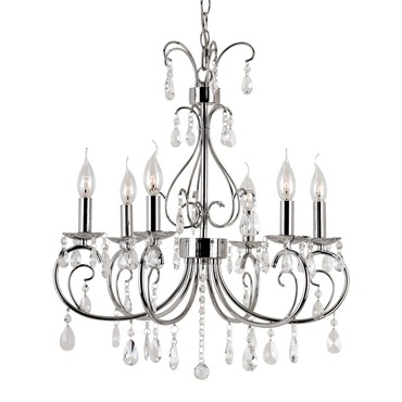Chic Nouveau Chandelier by Trans Globe | 70366 PC