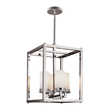 Pop Indie 4-Light Pendant by Trans Globe | 70344 PC