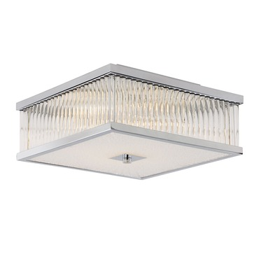 Squared Sunburst Ceiling Mount