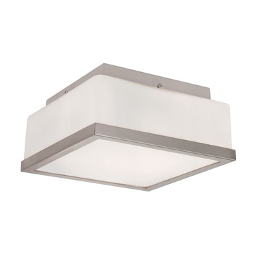Frost Square Flush Mount Ceiling by Trans Globe | PL-10090 BN