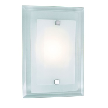 Beveled Rectangle Wall Sconce