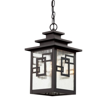 Geo Tempo Hanging Pendant by Trans Globe | 40184 WB