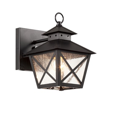 Chimney Wall Lantern by Trans Globe | 40170 BK