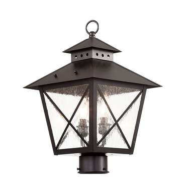 Chimney Post Lantern by Trans Globe | 40173 BK