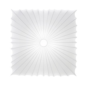 Muse Square Wall / Ceiling Mount by Axo Light | UPMU120QBCXXE26