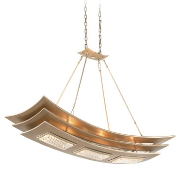 Muse Island Pendant by Corbett Lighting | 155-56