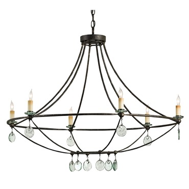 Novella Chandelier by Currey and Company | 9921-CC