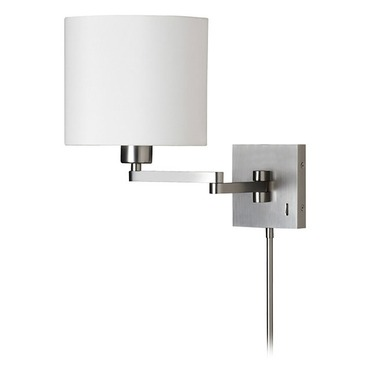 Cast Metal Double Arm Swing Wall Light by Dainolite | DMWL7713-SC