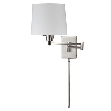 Swing Arm Wall Light by Dainolite | DWL80DD-SC