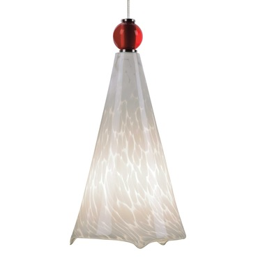 Freejack Mini Ovation Pendant with Ball Detail by Tech Lighting | 700FJMOVWRC
