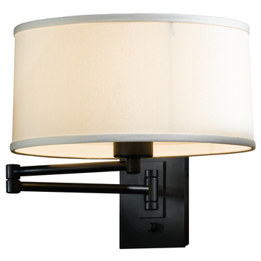 Simple Swing Arm Wall Reading Light by Hubbardton Forge | 209250-10-435