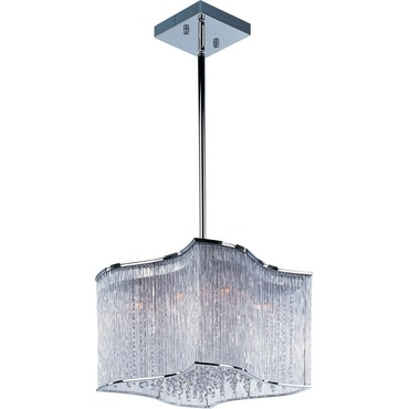 Swizzle Pendant by Maxim Lighting | 39704CLPC