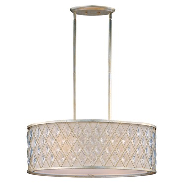 Diamond Oval Pendant by Maxim Lighting   21456OFGS