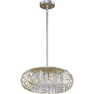 Arabesque Oval Pendant by Maxim Lighting | 24154BCGS