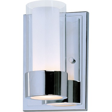 Silo Bathroom Vanity Light by Maxim Lighting | 23071CLFTPC