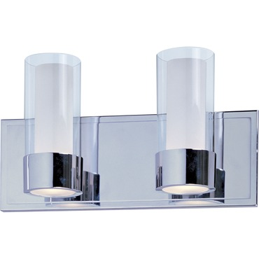 Silo Bath Vanity Light by Maxim Lighting | 23072CLFTPC