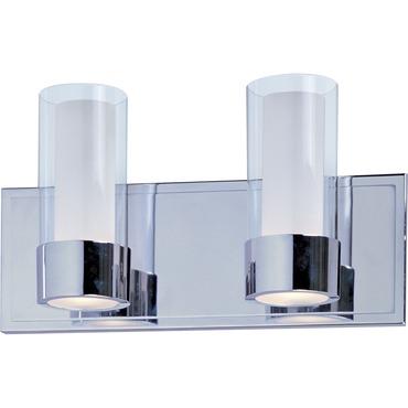 Silo Bathroom Vanity Light by Maxim Lighting | 23072CLFTPC