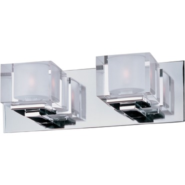 Cubic Bath Bar by Maxim Lighting | 10002CLPC