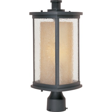 Bungalow Outdoor Post Mount by Maxim Lighting | 85650CDWSBZ