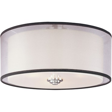 Orion Oval Flush Mount by Maxim Lighting | 23031SWSN