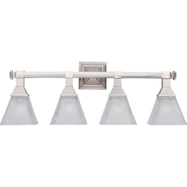 Brentwood 4-Light Bath Vanity by Maxim Lighting | 11079FTSN