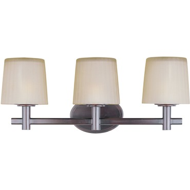 Finesse 3 Light Bathroom Vanity Light by Maxim Lighting | 21513DWOI