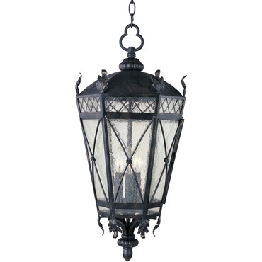 Canterbury Outdoor Hanging Lantern by Maxim Lighting | 30459CDAT
