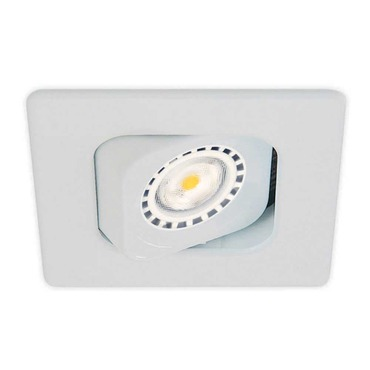 T3100 3.5 Inch Square Adjustable Trim by Contrast Lighting | T3100-11