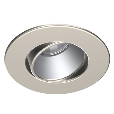T3450D-SM 3.5 Inch Round Smooth Regressed Adjustable Trim by Contrast Lighting | T3450D-13SM