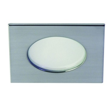 S3145DC 3.5 Inch Adjustable Shower Square Trim Clear Lens