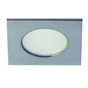 S3145DC 3.5 Inch Adjustable Shower Square Trim Clear Lens
