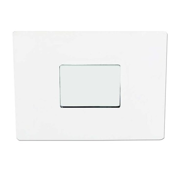S3151 3.5 Inch Low Profile Square Shower Pinhole Trim by Contrast Lighting | S3151-11