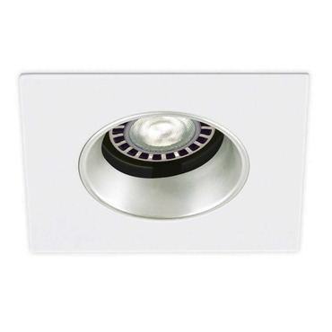 T3145W 3.5 Inch Square Adjustable Regressed Wall Wash Trim by Contrast Lighting | T3145W-11