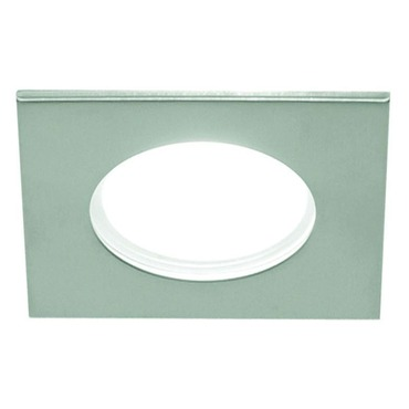 LEDS210 4 Inch 12W Very Wide Beam Square Shower Trim