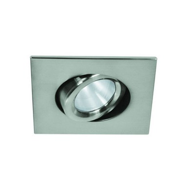 LEDT312 3.5 Inch LED 12W Wide Beam Adjustable Square Trim