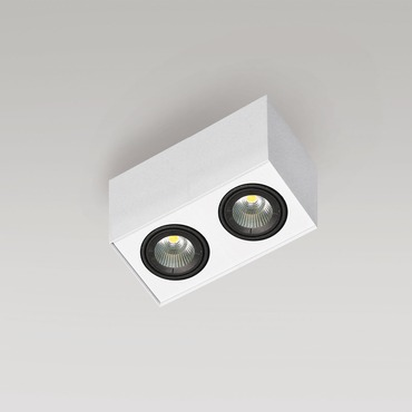 Box 1C 2 Light LED  by Lucitalia | LC-209020131