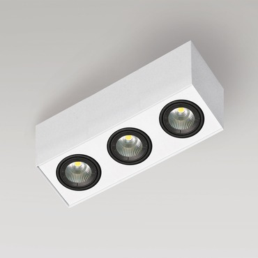 Box 1C 3 Light LED by Lucitalia | LC-209030131