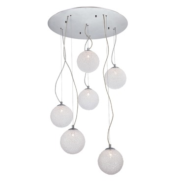 Melody 6-light Pendant