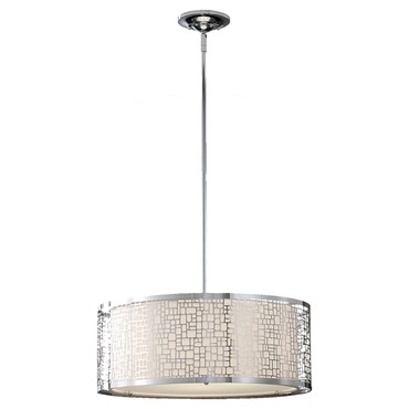 Joplin Pendant by Feiss | F2638/3CH