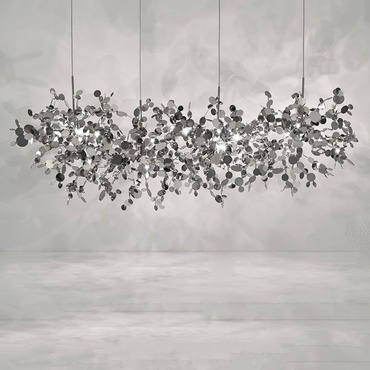Argent Linear Chandelier
