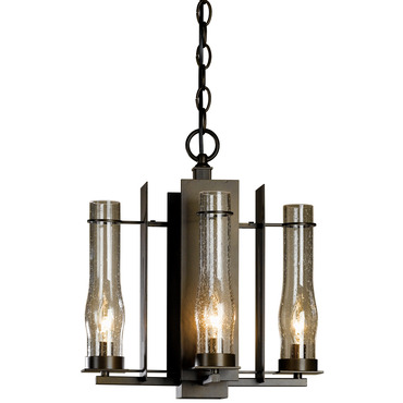 New Town 4 Arm Chandelier by Hubbardton Forge | 103250-05-I184