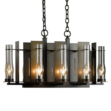 New Town 8 Light Chandelier by Hubbardton Forge | 103280-05-I184