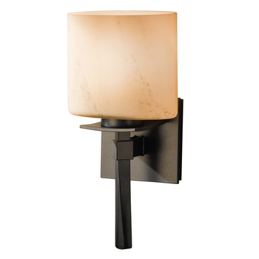 Beacon Hall Glass Shade Wall Light by Hubbardton Forge | 204820-08-H182