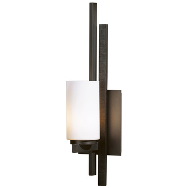 Ondrian Left Wall Light by Hubbardton Forge | 206301L-07-H168