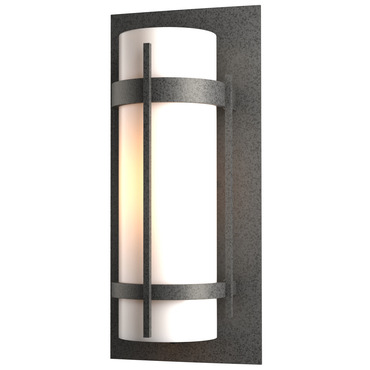 Banded 16 Outdoor Wall Sconce by Hubbardton Forge | 305893-20-G34